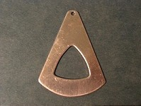 CUT-457 Triangle with triangle hole (51mm)