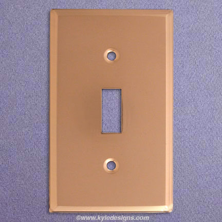 Switchplate - single SW-1